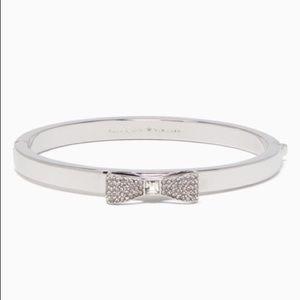 Kate Spade Crystal Bow Bracelet